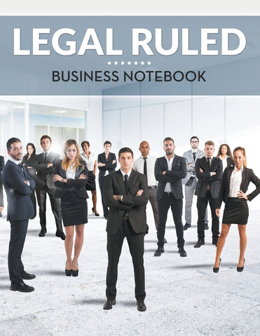 Legal Ruled Business Notebook