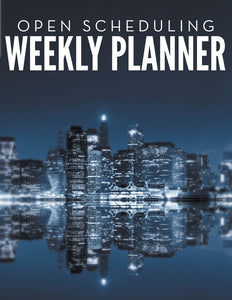Open Scheduling Weekly Planner