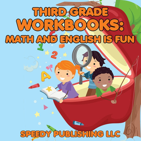 Third Grade Workbooks: Math and English is Fun