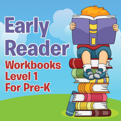 Early Reader Workbooks Level 1 For Pre-K