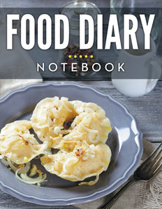 Food Diary Notebook