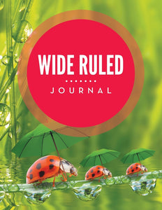 Wide Ruled Journal
