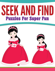 Seek And Find Puzzles For Super Fun