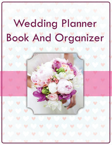 Wedding Planner Book And Organizer