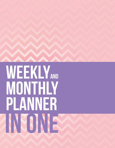 Weekly And Monthly Planner In One