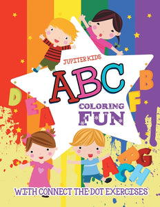 ABC Coloring Fun (with Connect the Dot Exercises)