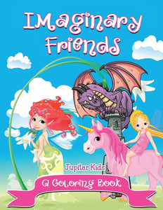 Imaginary Friends (A Coloring Book)