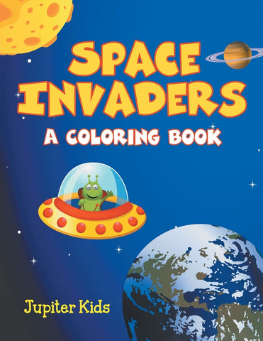 Space Invaders (A Coloring Book)