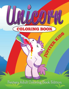 Unicorn Coloring Book: Fantasy Adult Coloring Book