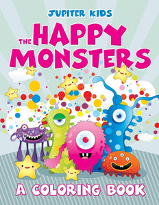 The Happy Monsters (A Coloring Book)