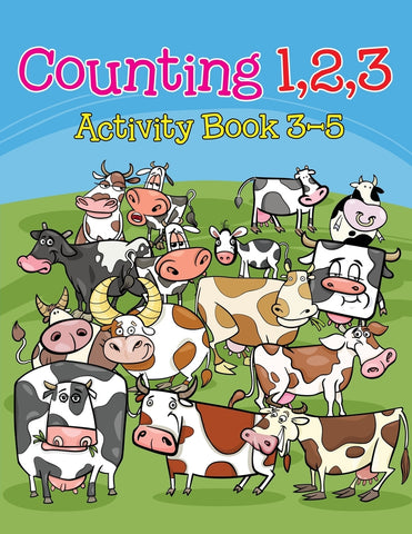 Counting 1 2 3: Activity Book 3-5