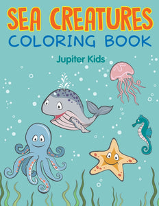 Sea Creatures Coloring Book