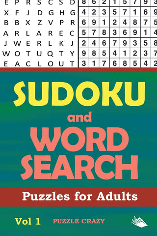 Sudoku and Word Search Puzzles for Adults Vol 1
