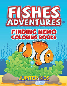 Fishes Adventures: Captain Nemo Coloring Books