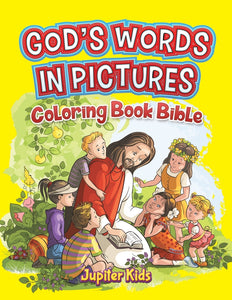 Gods Words In Pictures: Coloring Book Bible