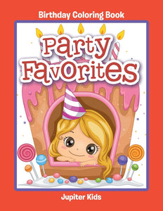 Party Favorites: Birthday Coloring Book