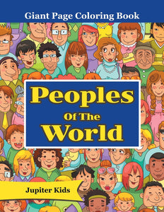 Peoples Of The World: Giant Page Coloring Book