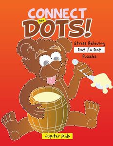 Connect The Dots! Stress Relieving Dot To Dot Puzzles