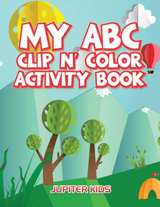 My ABC Clip n Color Activity Book