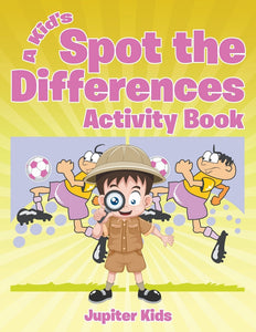 A Kids Spot the Differences Activity Book