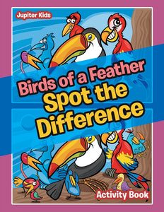 Birds of a Feather Spot the Difference Activity Book