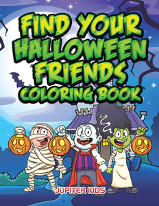 Find Your Halloween Friends Coloring Book