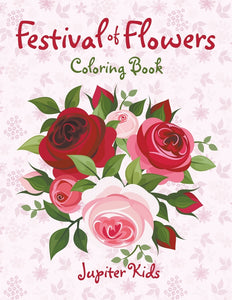 Festival of Flowers Coloring Book