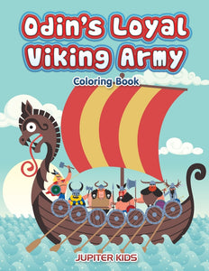 Odins Loyal Viking Army Coloring Book