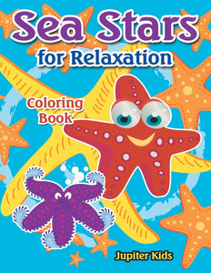 Sea Stars For Relaxation Coloring Book