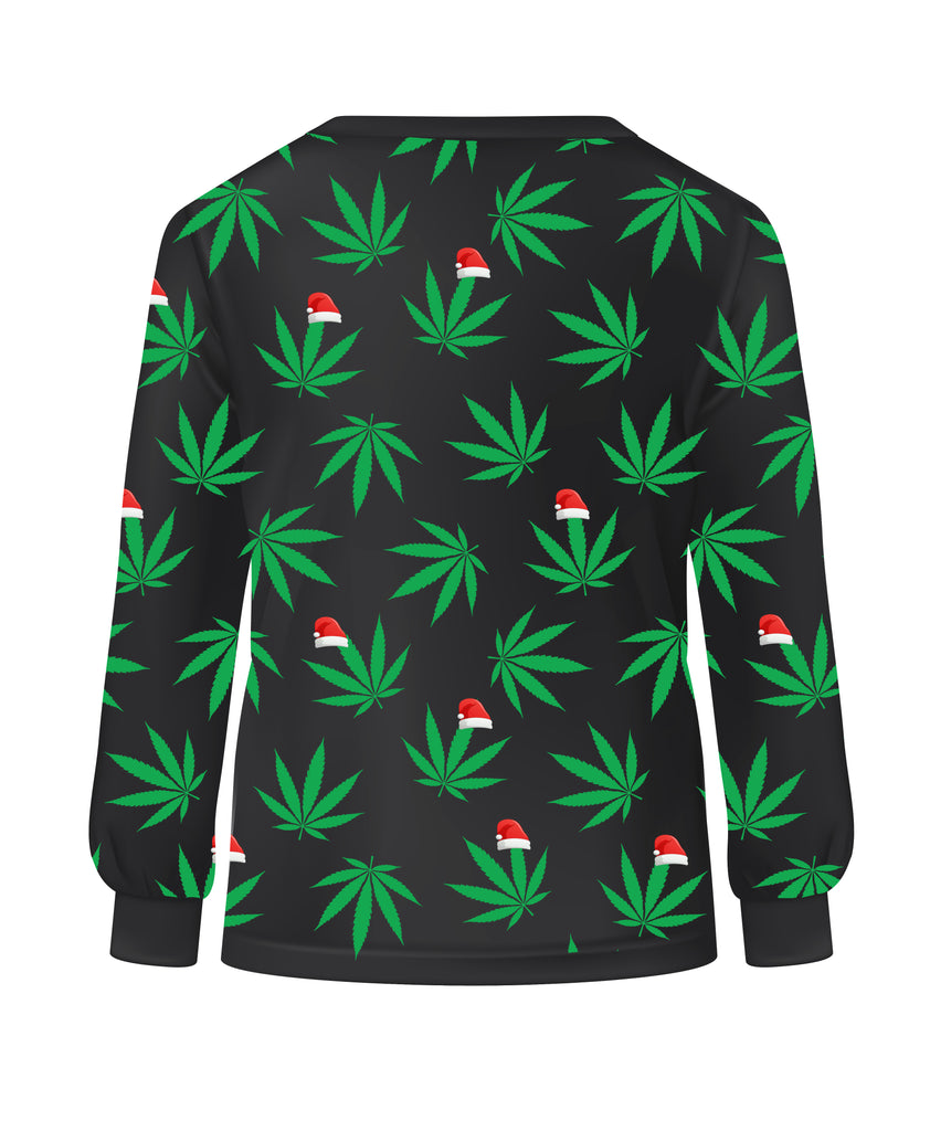 Merry Kushmas Long Sleeve Tee - LifeBeingDest