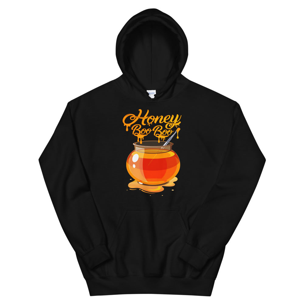 Black Hoodie with Honey BOO BOO logo by RefuseTheBrand - LifeBeingDest