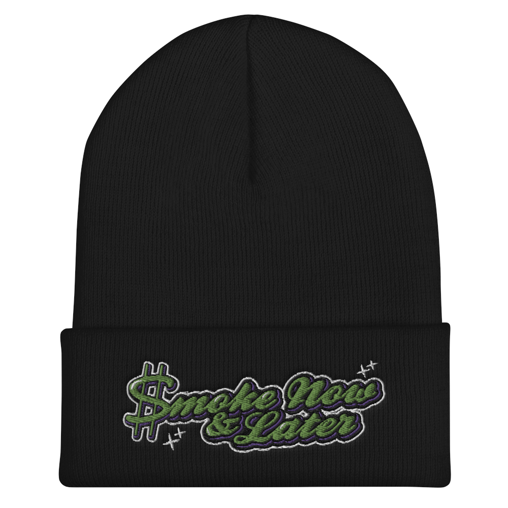 Smoke Now & Later Beanie