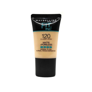 Maybelline Fit Me Matte Poreless Foundation 120