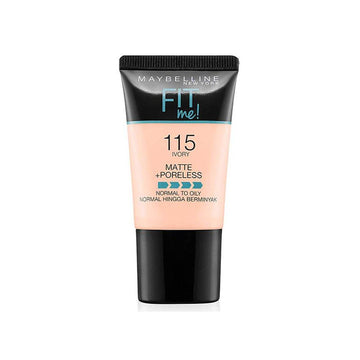 Maybelline Fit Me Matte Poreless Foundation 115