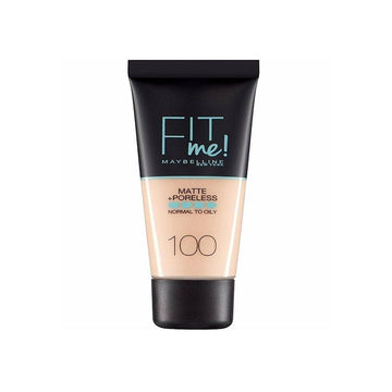 Maybelline Fit Me Matte Poreless Foundation 100