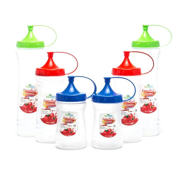 Novel Plastic Ketchup Bottle Set