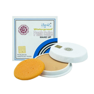 Kosmik Waterproof Pan Cake Makeup Face Powder