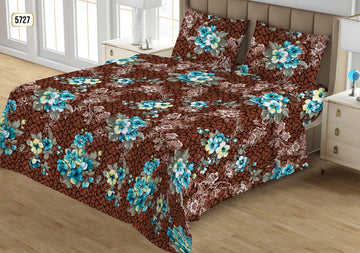 Printed Double Bedsheet - 20