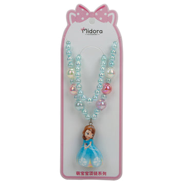 Baby Necklace Set Barbie - Turqouise