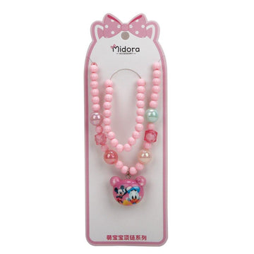 Baby Necklace Set M&D - Soft Pink