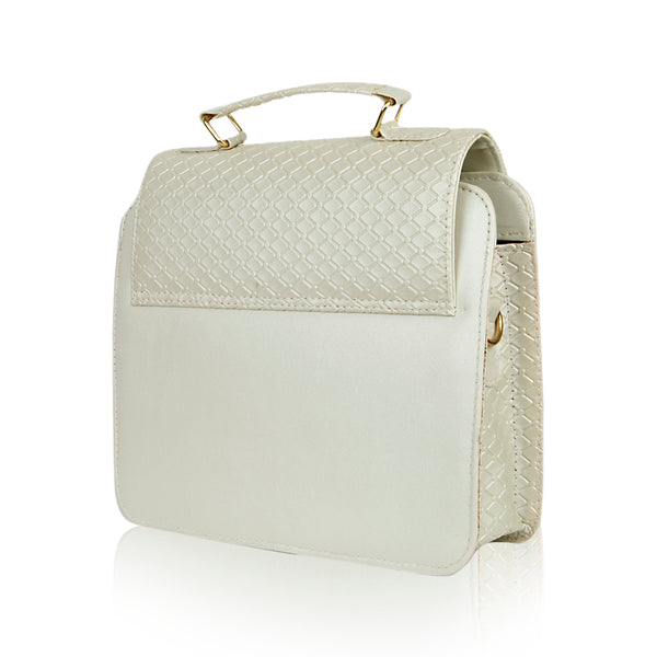Women Mini Bag - White