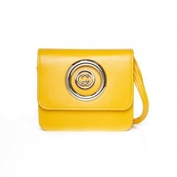 Women Mini Bag - Yellow