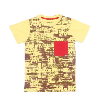 Graphic Tee Crew Neck Half Sleeve
