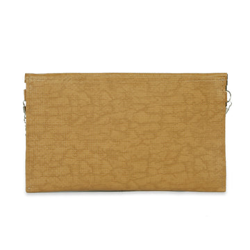 Women Fancy Studs Clutch - Beige