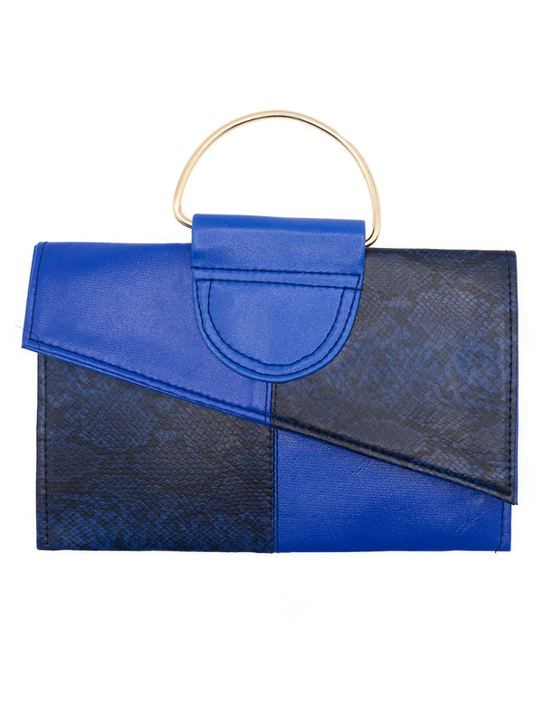 Women Clutches CL-120-Blue