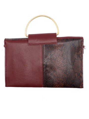 Women Clutches CL-120-Brown