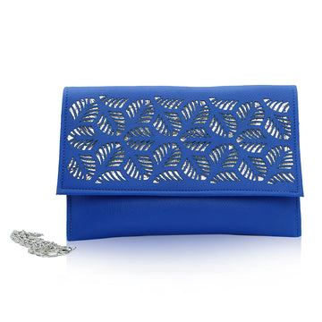 Women Clutch CL-127 Blue