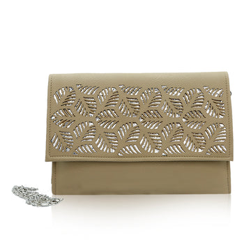 Women Clutch CL-127 Fawn