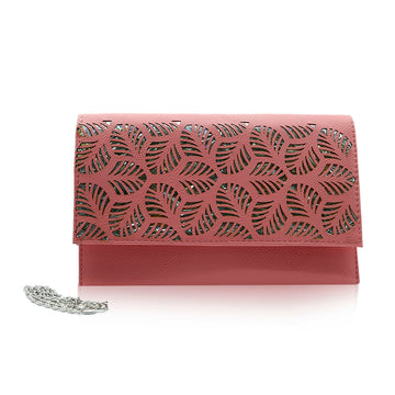 Women Clutch CL-127 Pink