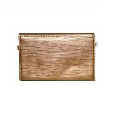 Women Clutch CL-128-Brown